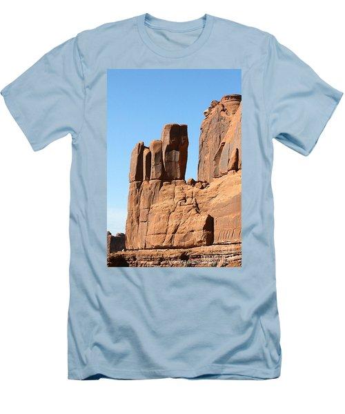 Moab Rocks Men's T-Shirt (Athletic Fit)