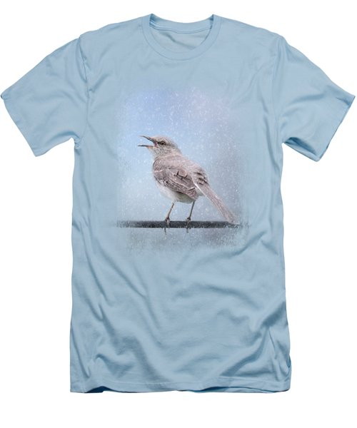 Mockingbird In The Snow Men's T-Shirt (Athletic Fit)