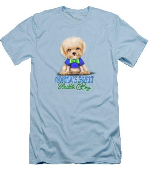 Mommas Sweet Little Boy Men's T-Shirt (Slim Fit) by Catia Cho