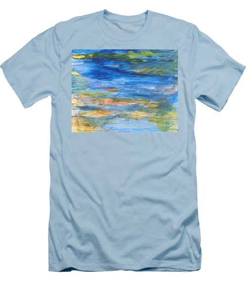 Monet's Pond Men's T-Shirt (Athletic Fit)