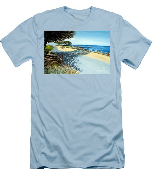 Monterey Shadows Men's T-Shirt (Athletic Fit)