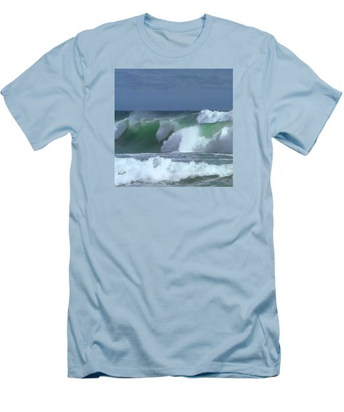 Monterey Surf Men's T-Shirt (Athletic Fit)