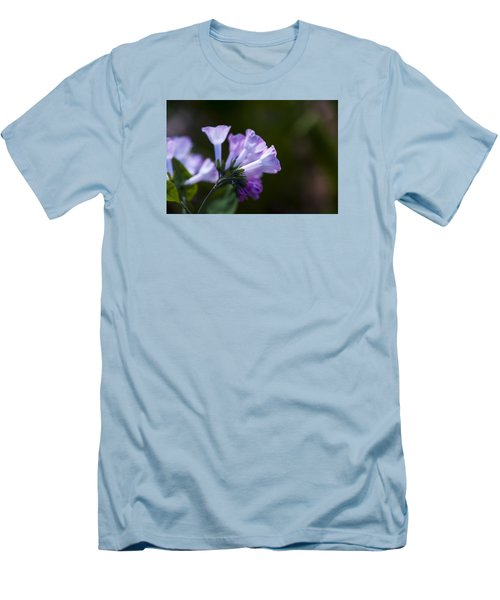 Morning Bluebells Men's T-Shirt (Slim Fit) by Dan Hefle