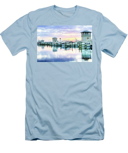 Morning Calm Men's T-Shirt (Slim Fit) by Maddalena McDonald