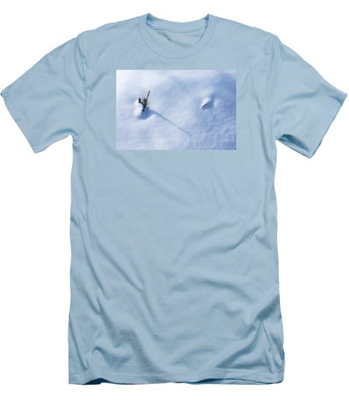 Morning Shadows On The Snow Men's T-Shirt (Athletic Fit)