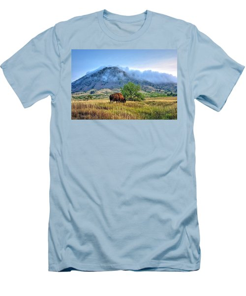 Morning Shift Men's T-Shirt (Slim Fit) by Fiskr Larsen