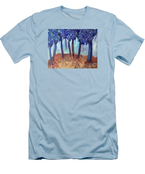 Mosaic Daydreams Men's T-Shirt (Slim Fit) by Elizabeth Fontaine-Barr