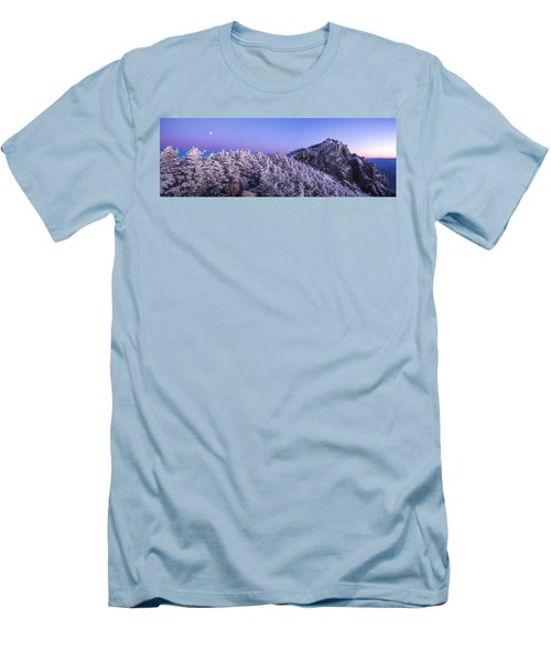 Mount Liberty Blue Hour Panorama Men's T-Shirt (Athletic Fit)