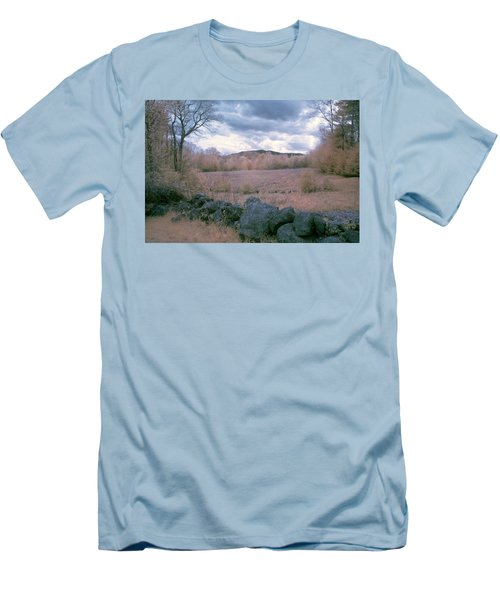 Mount Monadnock In Infrared Men's T-Shirt (Athletic Fit)