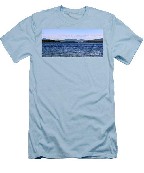 Mount Washington Men's T-Shirt (Slim Fit) by Mim White