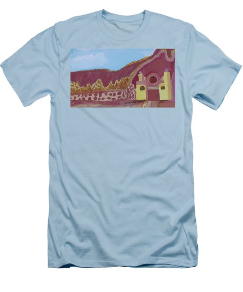 Mountain Mission Men's T-Shirt (Slim Fit) by Don Koester