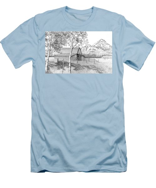 Mountain Pastoral Men's T-Shirt (Athletic Fit)