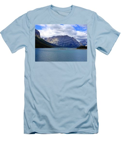 Upper Kananaskis Lake Men's T-Shirt (Athletic Fit)