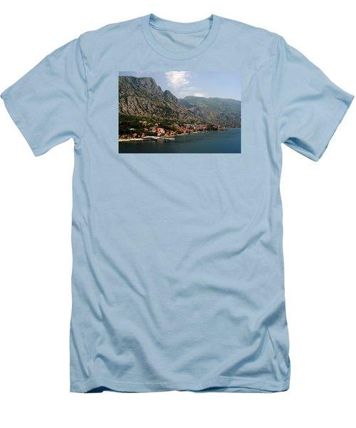 Mountains Of Montenegro Men's T-Shirt (Slim Fit) by Robert Moss