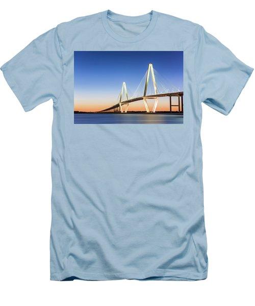 Moving Yet Still Men's T-Shirt (Slim Fit) by Jon Glaser
