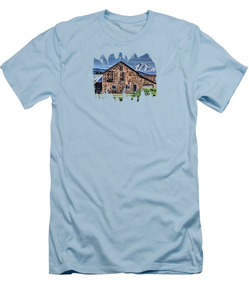 Men's T-Shirt (Slim Fit) featuring the photograph Mt. Adams by Thom Zehrfeld