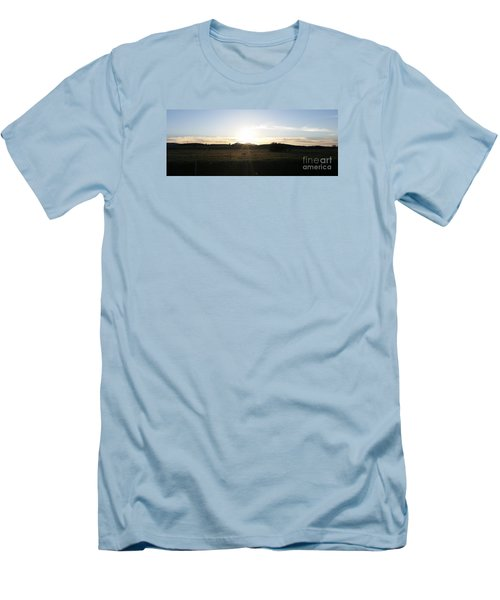 Mt. Diablo Sunset Men's T-Shirt (Athletic Fit)