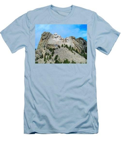 Mt Rushmore Men's T-Shirt (Athletic Fit)