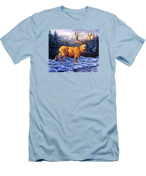 Mule Deer 2 Men's T-Shirt (Slim Fit)