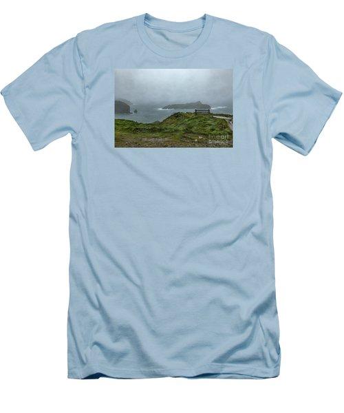 Mullion Cove Men's T-Shirt (Slim Fit) by Brian Roscorla