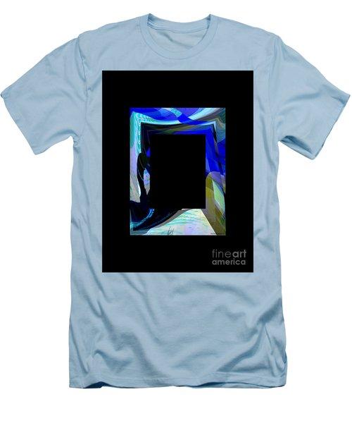 Multidimension Men's T-Shirt (Slim Fit) by Thibault Toussaint