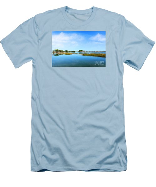 Murrells Inlet Men's T-Shirt (Slim Fit) by Kathy Baccari