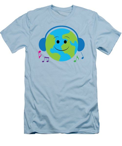 Musical World Men's T-Shirt (Slim Fit) by A