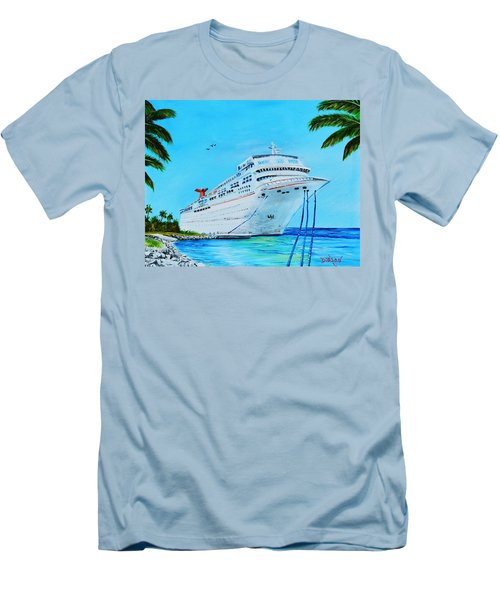 My Carnival Cruise Men's T-Shirt (Slim Fit) by Lloyd Dobson
