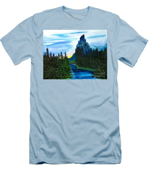 My Imagination Only Men's T-Shirt (Slim Fit) by Rod Jellison