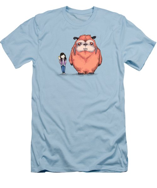 My Neighbor Ludo Men's T-Shirt (Athletic Fit)