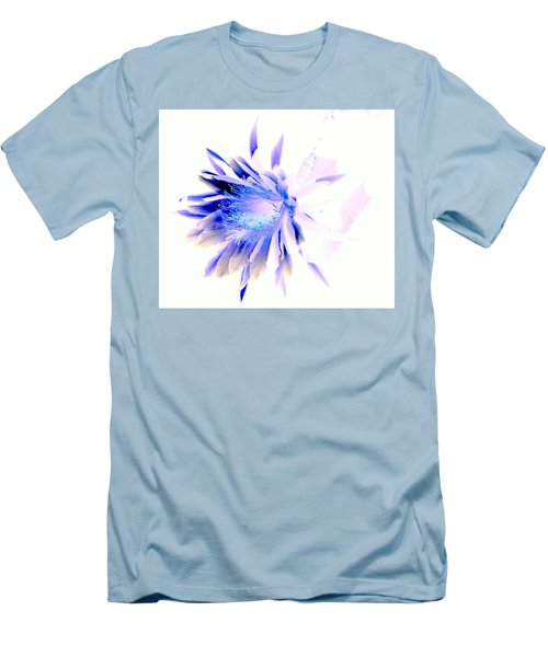 Mystical Phenomenoms Of The Southwest Cactus Orchid Men's T-Shirt (Slim Fit) by Antonia Citrino