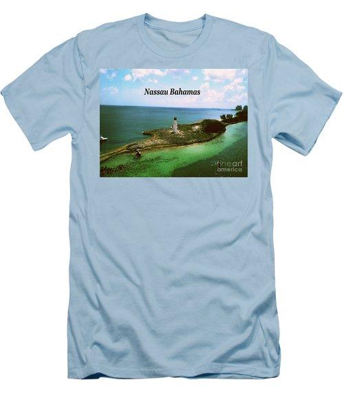 Men's T-Shirt (Slim Fit) featuring the photograph Nassau by Gary Wonning