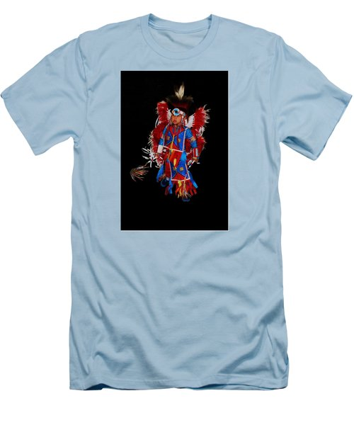 Native American Dancer Men's T-Shirt (Athletic Fit)