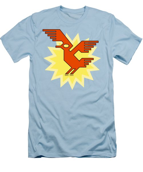 Native South American Condor Bird Men's T-Shirt (Athletic Fit)