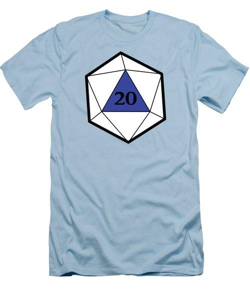 Natural 20 Men's T-Shirt (Slim Fit) by Carlo Manara