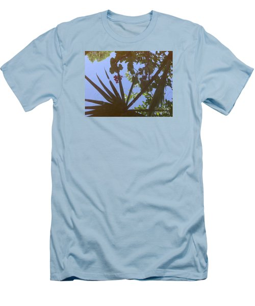 Men's T-Shirt (Slim Fit) featuring the photograph Nature Reflected by Nora Boghossian
