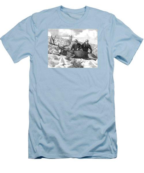 Navada Hunt 2015 Men's T-Shirt (Slim Fit) by Peter Piatt