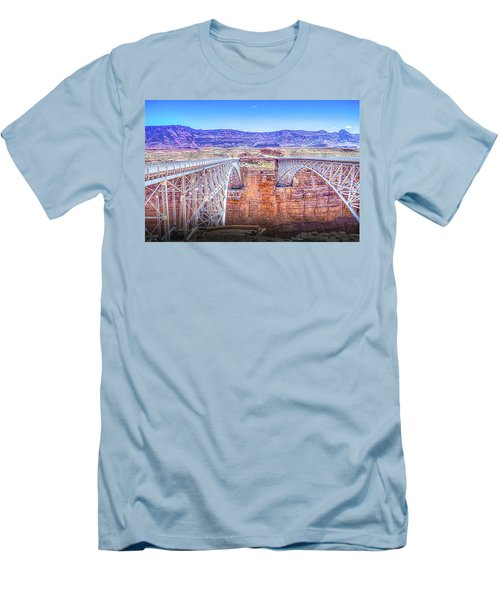 Navajo Bridge Men's T-Shirt (Athletic Fit)