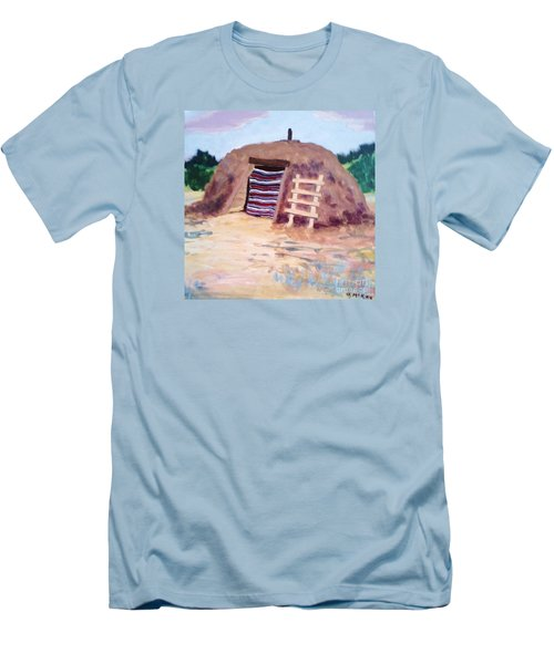 Navajo Hogan Men's T-Shirt (Athletic Fit)