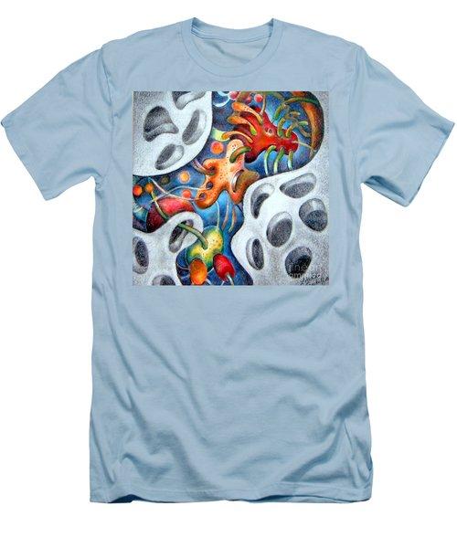 Neighborhood Block Party  Men's T-Shirt (Athletic Fit)