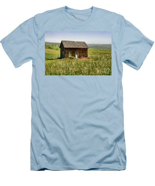 Nephi Moss Cabin Men's T-Shirt (Athletic Fit)