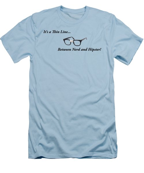 Nerd Or Hipster Men's T-Shirt (Athletic Fit)