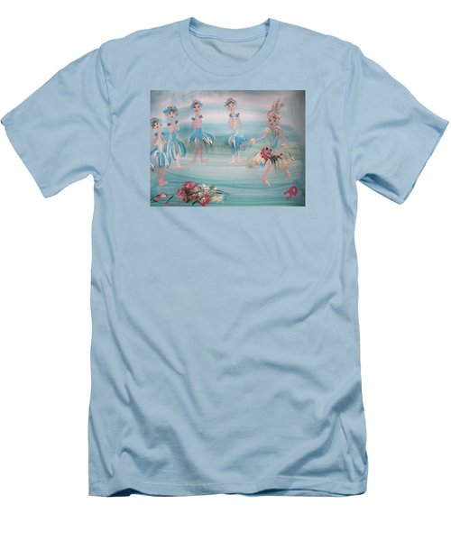 New Ballet Curtain Call Men's T-Shirt (Slim Fit) by Judith Desrosiers