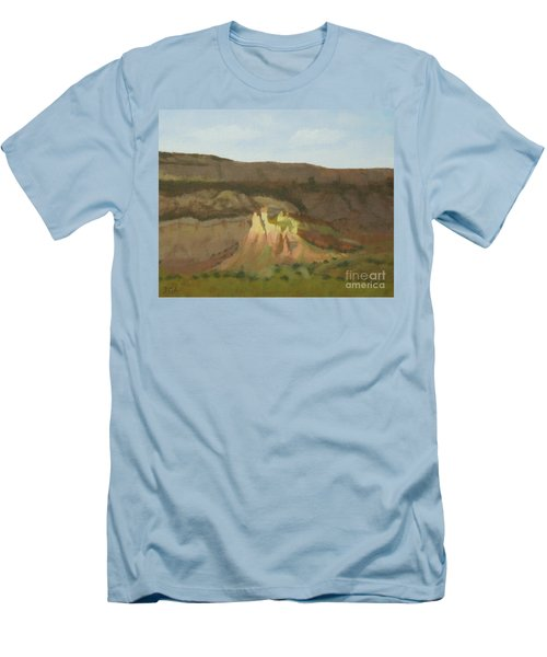 New Mexican Statues Men's T-Shirt (Athletic Fit)