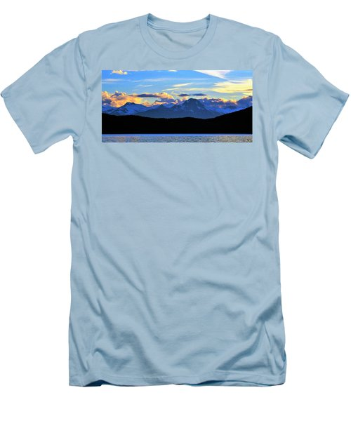 New World Men's T-Shirt (Slim Fit) by Martin Cline