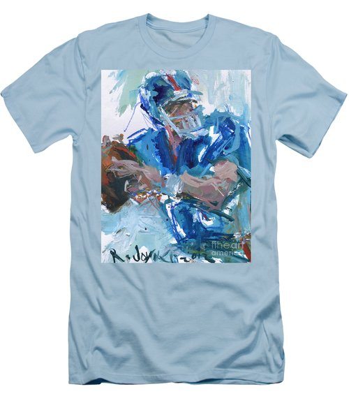 New York Giants Artwork Men's T-Shirt (Athletic Fit)