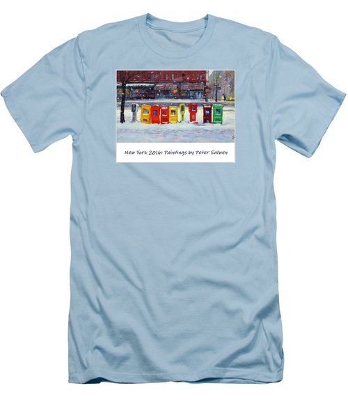 New York Streetscapes 2016 Men's T-Shirt (Athletic Fit)