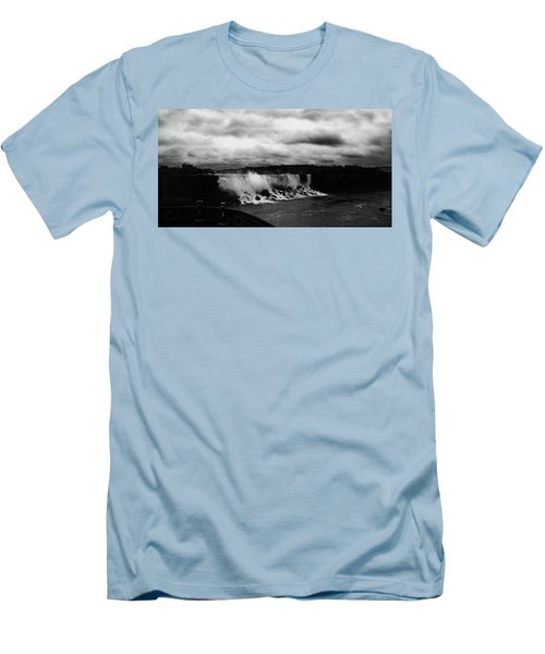 Niagara Falls - Small Falls Men's T-Shirt (Athletic Fit)