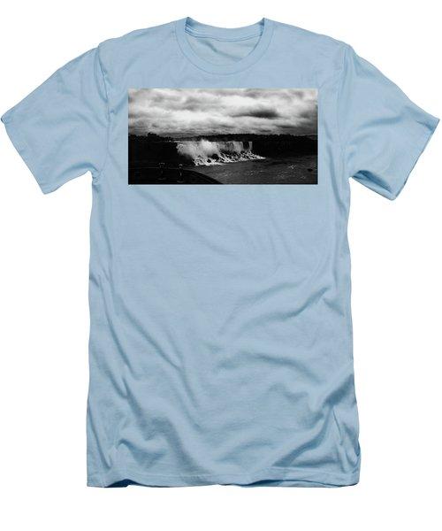 Niagara Falls - Small Falls Men's T-Shirt (Athletic Fit)