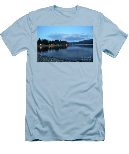 Men's T-Shirt (Slim Fit) featuring the photograph Night Fall by Victor K